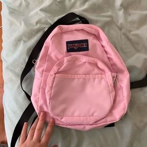 Jansport pink small backpack